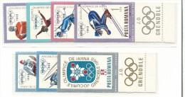 FROL419 - ROMANIA - OLIMPIADI DI GRENOBLE 1968 - Inverno1968: Grenoble