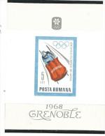 FROL418 - ROMANIA - OLIMPIADI DI GRENOBLE 1968 - Inverno1968: Grenoble
