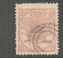 DkMi.Nr.012/ 3 S Mit Ringstempel O - 1851-63 (Frederik VII)