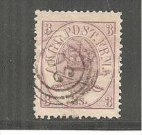 DkMi.Nr.012/ 3 S Kronsignien, Super Erhaltungl O - 1851-63 (Frederik VII)