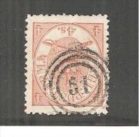 DkMi.Nr.013/ Kronsignien, 4 S, Super Erhaltung O - Gebraucht