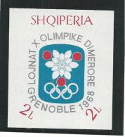 FROL417 - ALBANIA - OLIMPIADI DI GRENOBLE 1968 - Inverno1968: Grenoble