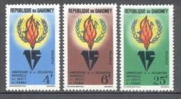 Dahomey 1963 - Michel 229 - 231 * - Bénin – Dahomey (1960-...)