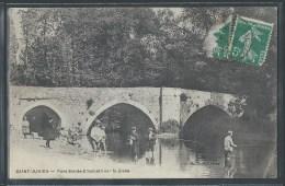 - CPA 87 - Saint-Junien, pont Sainte-Elisabeth sur la Glane