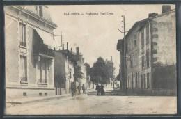- CPA 87 - Saint-Junien, faubourg Pont-Levis