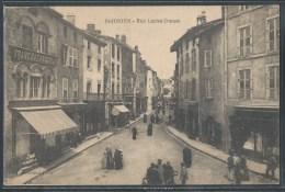 - CPA 87 - Saint-Junien, rue Lucien Dumas