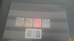 LOT 222955 TIMBRE DE FRANCE NEUF* N�270 A 274 VALEUR 60 EUROS