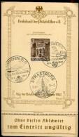 72940 K - CP TAG DER BRIEFMARKE 12 1 1941 SUP - Marcophilie (Lettres)
