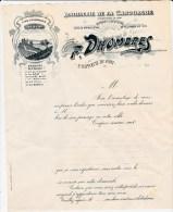 DISTILLERIE DE LA CANOURGUE ST HIPPOLYTE DU FORT - Publicités