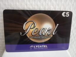 Prepaidcard Lycatel Belgium Used