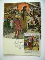1970  DOMINIK SKUTEKY   CESKOSLOVENSKO  CECOSLOVACCHIA   CZECHOSLOVAKIA   MAXIMUM     COVER  PREMIER JOUR  FDC FIRST DAY - Pittura & Quadri