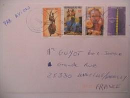 Mali Lettre De 2008 Pour Longeville - Mali (1959-...)