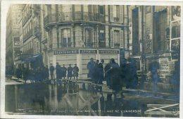 75 PARIS ++ Crue De La Seine 30 Janvier 1910 - Avenue Rapp Et Rue De L'Université ++ - Alluvioni Del 1910
