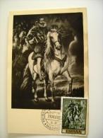 1962   RUBENS  MADRID ESPANA  SPAIN  SPAGNA       MAXIMUM     COVER  PREMIER JOUR  FDC FIRST DAY - Malerei & Gemälde