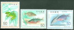 Japan 1976 Fish, Frog MNH** - Lot. 3019 - Nuevos