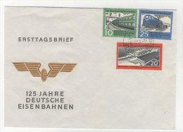 DDR Michel No. 804 - 806 FDC