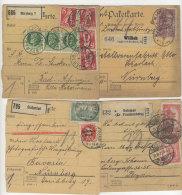 Lot Deutsches Reich Paketkarten