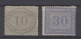 Deutsches Reich Michel No. 12 - 13 * ungebraucht