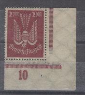 Deutsches Reich Michel No. 216 b * ungebraucht Eckrand / Infla gepr�ft