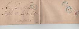 LSC En Franchise C.Bleu Bruxelles En 1842 V.Sa Majesté Léopold 1° Roi Des Belges PR1102 - 1830-1849 (Belgique Indépendante)