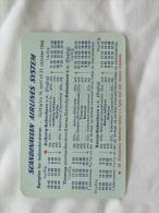 TRIF ET HORAIRE DE LA SCANDINAVIAN AIRLINES SYSTEM - Timetables