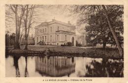 Cpa 1937, LA BREDE, Gironde Château De La Prade   (43.92) - Castelli