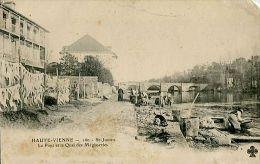 ST-JUNIEN:le pont et le quai des m�gisseries