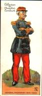Chromo Chocolat LOMBART, Découpage - Général FAIDHERBE - Lombart