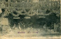 SAINT-JUNIEN - OSTENTIONS CHAPELLE DE LA LANDEIX - ARRIV�E DE SAINT JUNIEN A L'HERMITAGE DE SAINT AMAND (CARTE PAPIER)