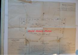 Plan Ancien 19e Ou Avant - LEROUVILLE ( Meuse ) - Répartition Des Pompes Et Autres ... - Voir Photos - Documents Historiques