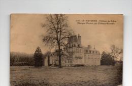 Cpa ,  Château De BREON, Mayenne,  (marigné, Peuton, Par Château-gontier) Parc Non Aménagé   (43.93) - Châteaux