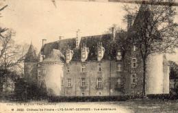 Cpa 1926 ,  Château De L'Indre, LYS SAINT GEORGES, Vue Extérieure    (43.94) - Châteaux