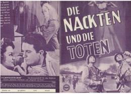 Neues Film Programm  Nr.1980 - Die Nackten Und Die Toten - Magazines