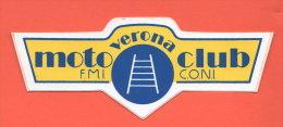 Verona Motoclub Anni 80' Advertising - Stickers