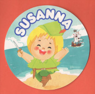 Susanna Tutta Panna.. Formaggini Advertising - Stickers