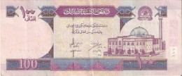 BILLETE DE AFGANISTAN  DE 100 AFGHANIS DEL AÑO 2002 (BANKNOTE) - Afghanistán