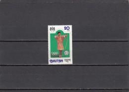 Bhutan Nº 522 - Bhután