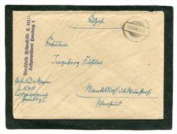 Deutsches Reich Feldpostbrief 1940 - Militaria