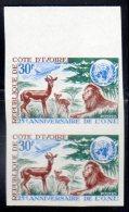 COTE D'IVOIRE - 1970 - N° 303 **  NON DENTELE En Paire - Costa D'Avorio (1960-...)