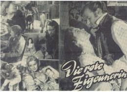 Neues Film Programm  Nr.988 - Die Rote Zigeunerin - Magazines