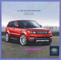 PUBLICITES USA RECLAME ADVERTISEMENT REKLAME WERBUNG PUBBLICITA PUBLICIDAD For RANGE ROVER SPORT By LAND ROVER CAR AUTO - Advertising