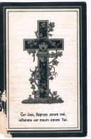 Bid Voor De Ziel, Maria Catharina APERS (J.B. Cobbaut), Ruysbroeck 1820 / Klein-Willebroeck 1899 - Devotion Images