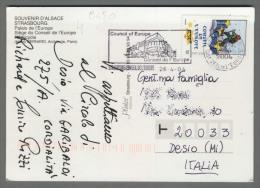 C450 FRANCE Postal History 2004 CONSEIL DE L EUROPE 0.50 Euro CACHET COUNCIL (m) - Frankreich