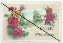 Carte - Un Baiser D'Havrincourt - France