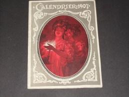 cALENDRIER 1907 -