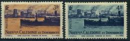France : Nouvelle Calédonie N° 270 Et 271 X Année 1948 - Neufs