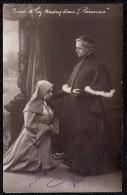 BRUXELLES THEATRE 1917 - * RARE !!! PHOTO DEDICASEE DES ARTISTES COMIQUES SUZANNE ANDRY & DAIX  * - Cafés, Hotels, Restaurants