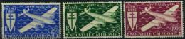France : Nouvelle Calédonie, Poste Aérienne N° 50 à 52 Nsg Année 1942 - Luftpost