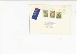Enveloppe Timbrée  De Exp : Dr  D A  Izamis A Carletonville Afrique Du Sud  Adressé A Mr J P   Salze A Annecy 74 - Poste Aérienne
