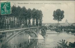 02 VIC SUR AISNE / Pont En Ciment Armé Utilisé Par Le Chemin De Fer / - Vic Sur Aisne